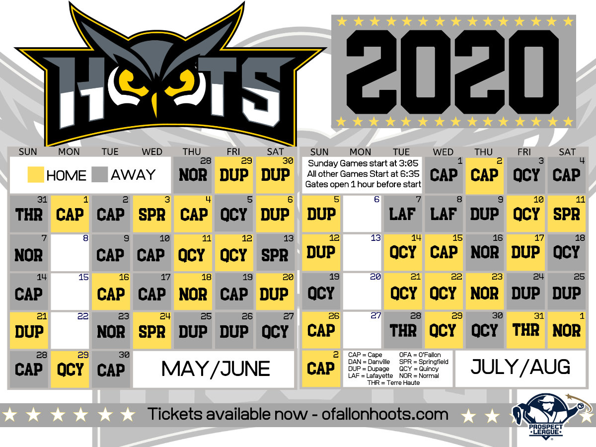 OF 2020 Schedule Web