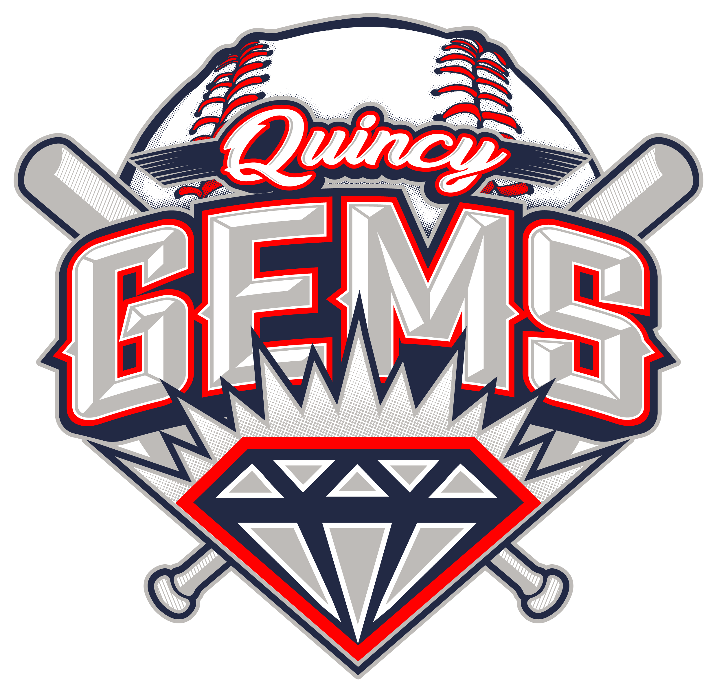 Quincy Gems 2018 - red laces